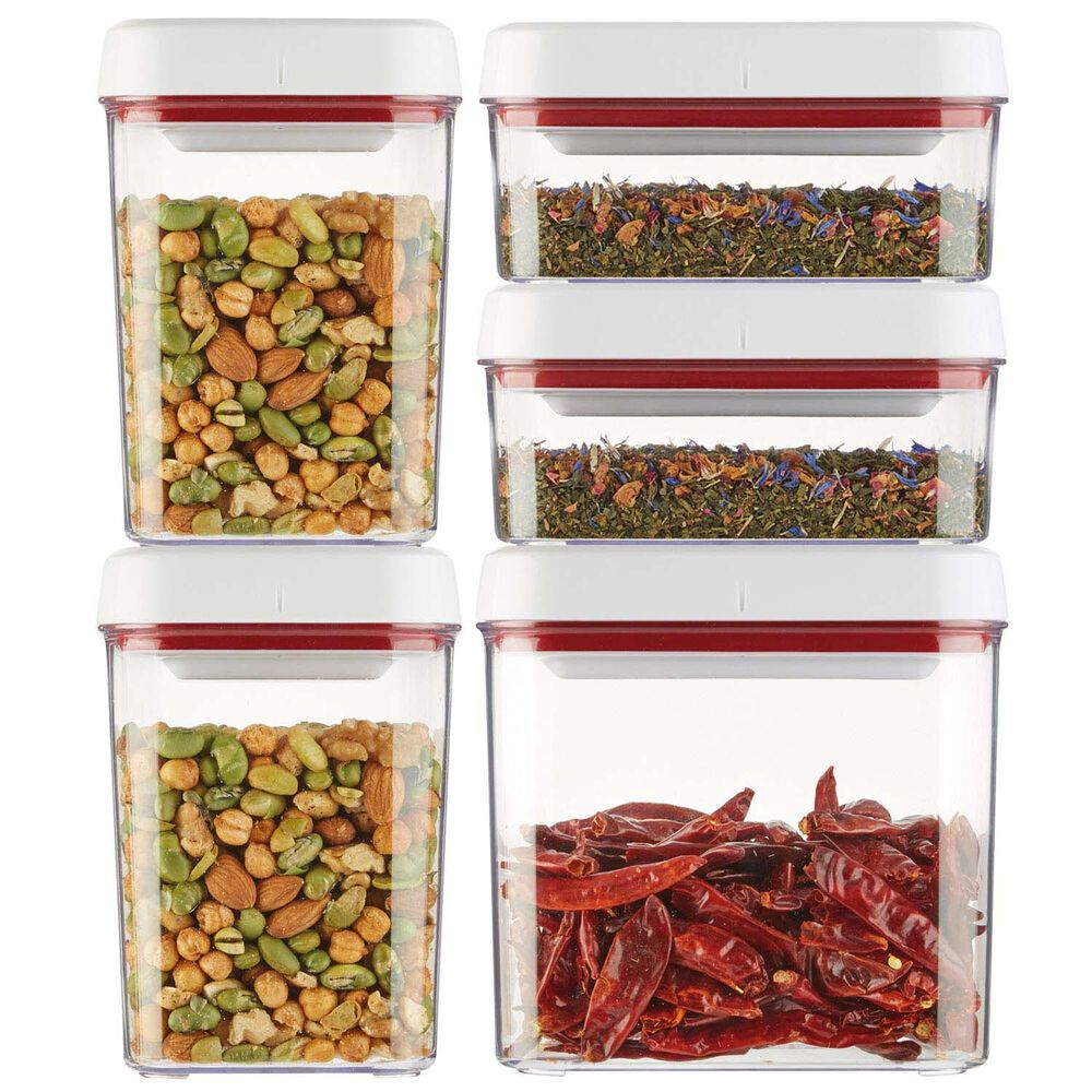 Zyliss Twist & Seal Containers, Set of 5