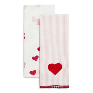 Valentine's Day Towels, Set of 2
