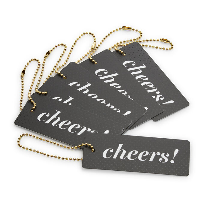 Cheers Gift Tags, Set of 6