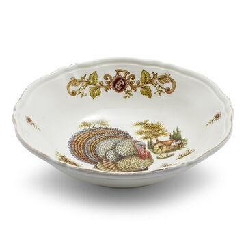 Italian Turkey Serve Bowl