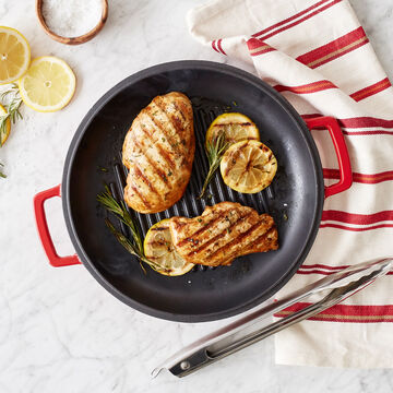 Cast Iron Casserole With Grill Pan Lid, 8 qt.