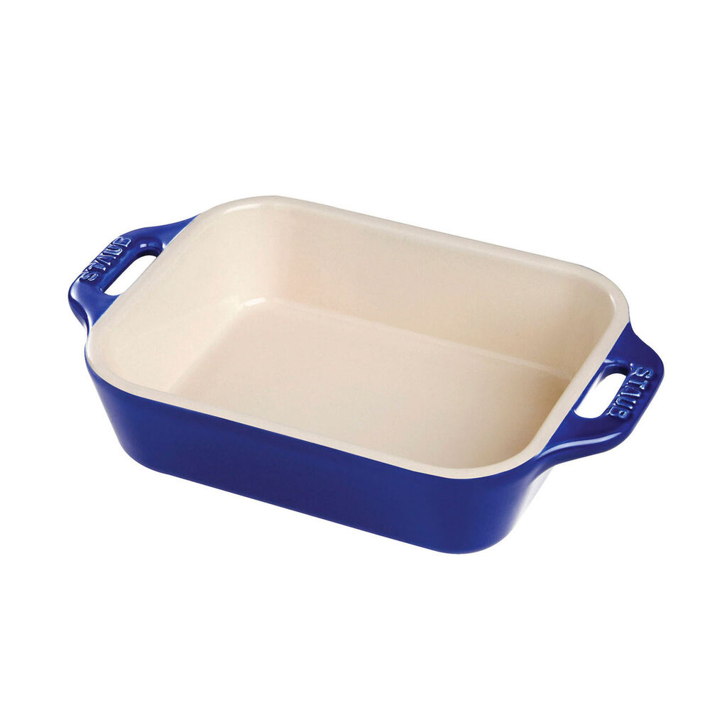 "Staub Ceramic Rectangular Baking Dish, 7.5"" x 6"""
