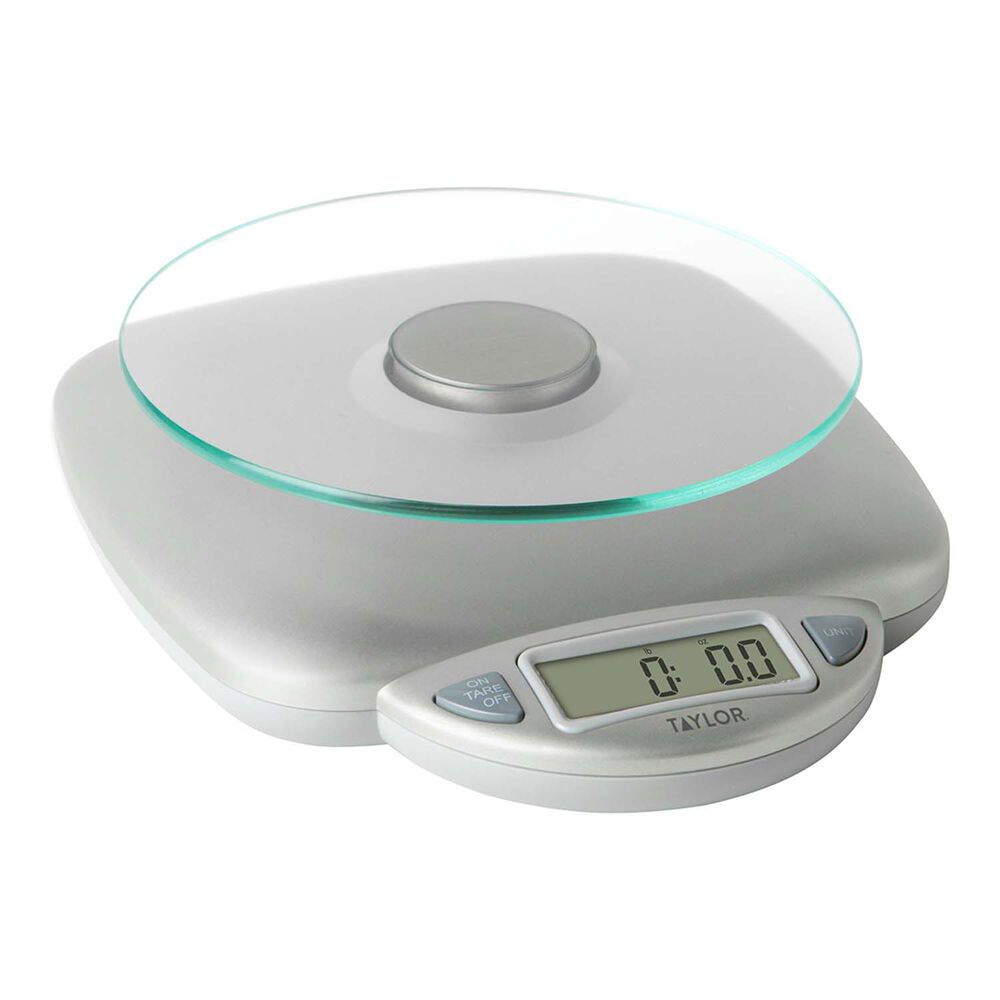 Taylor Digital Glass Top Kitchen Scale, 11 lb.