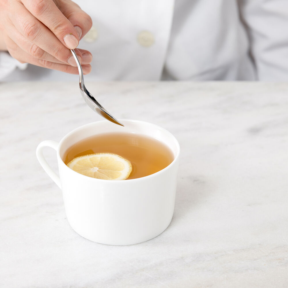 Gourmet Essentials Bone China Classic Mugs, Set of 4