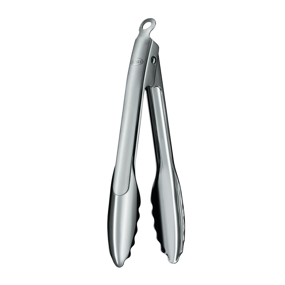 Rösle Locking Stainless Steel Tongs