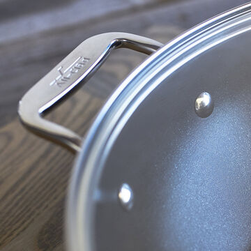 """All-Clad HA1 Nonstick Covered Skillet, 12"""""""