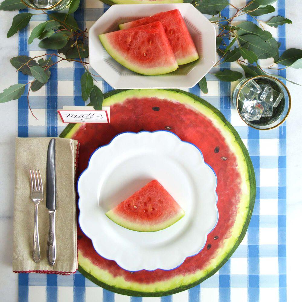 Watermelon Paper Table Settings