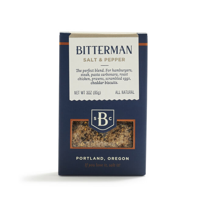 Bitterman Salt & Pepper, 3 oz.