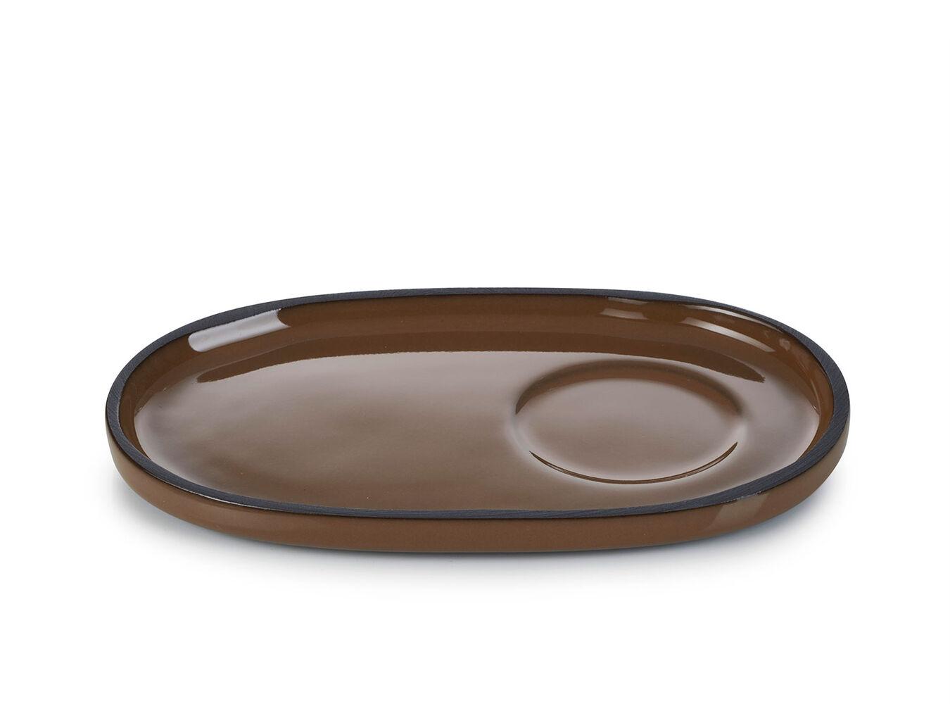 Revol Caractère Oval Saucers, Set of 4   Sur La Table