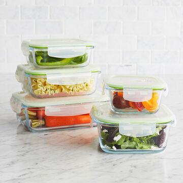 Sur La Table 10-Piece Glass Storage Container Set