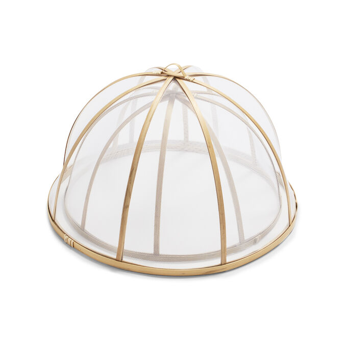 Bamboo Food Dome, Set of 2