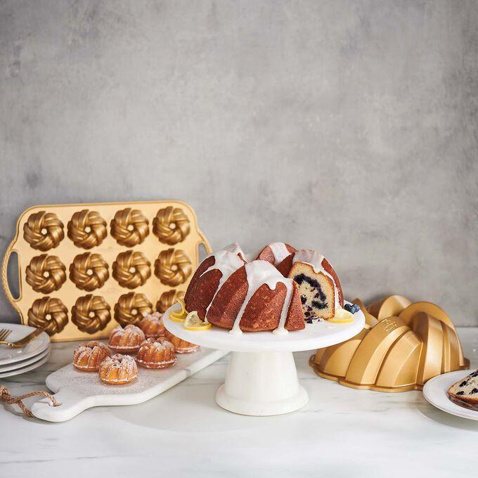 Nordic Ware 75th Anniversary Braided Cakelet Pan