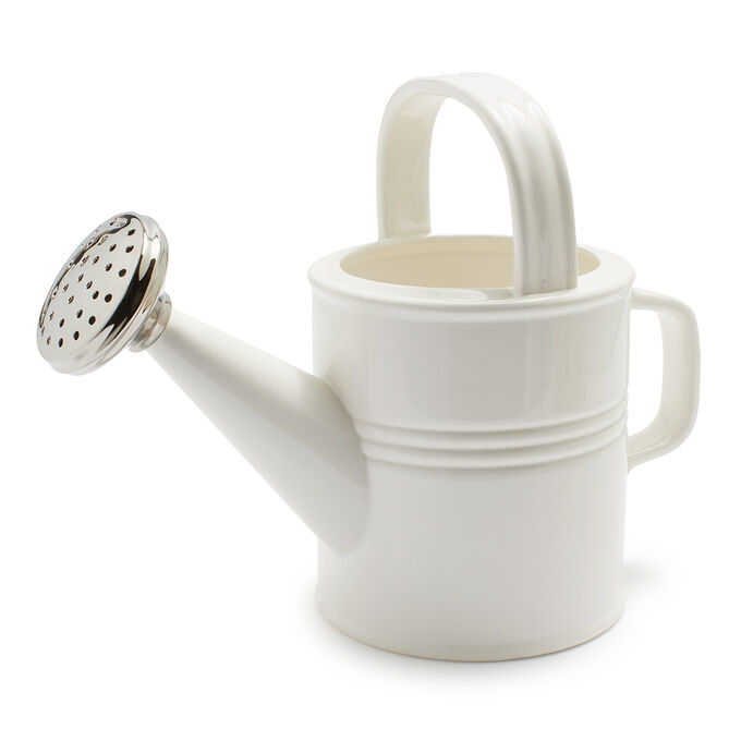 """Two's Company Ceramic Watering Can, 6.5"""""""