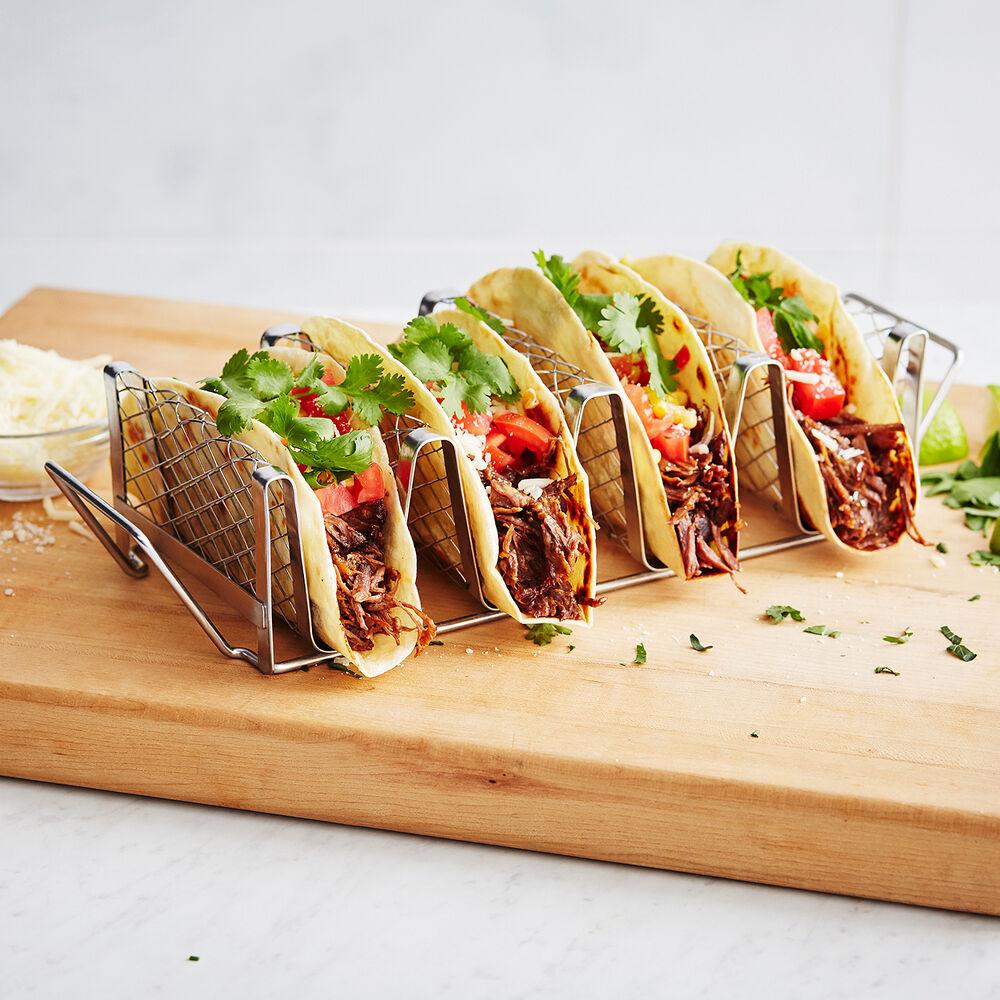 Sur La Table Stainless Steel Taco Rack
