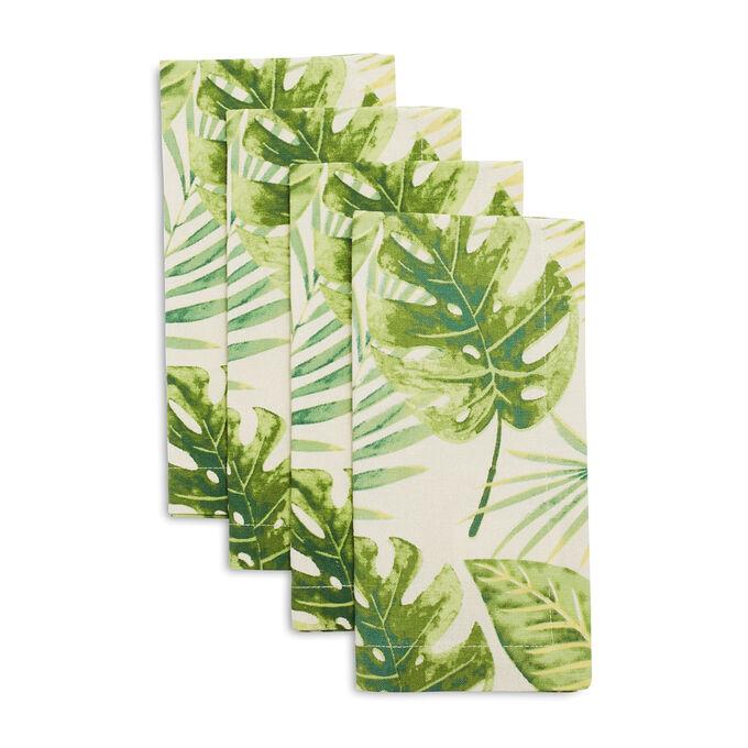 Palm Leaf Napkins, Set of 4