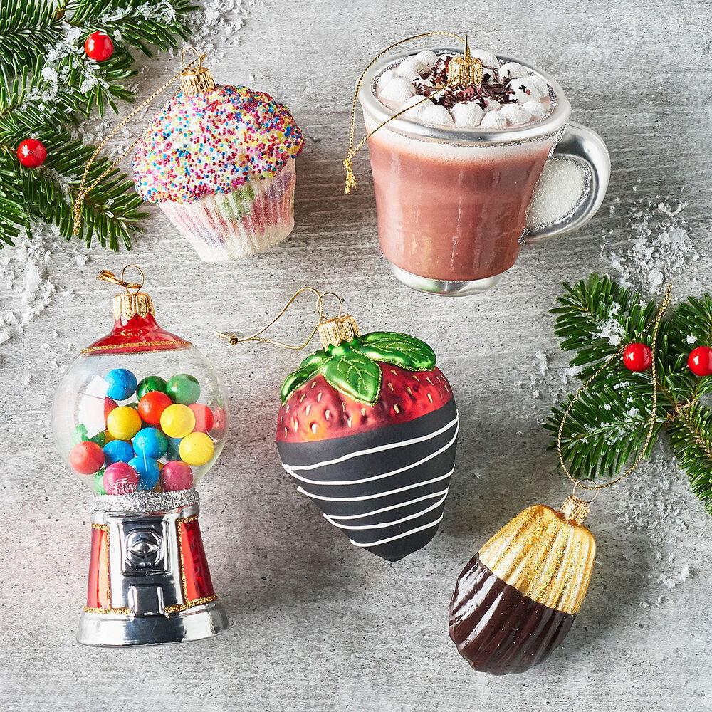 Hot Chocolate Glass Ornament