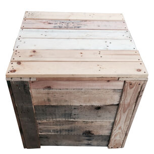 LadyBagsSF Reclaimed Wood Compost Bin