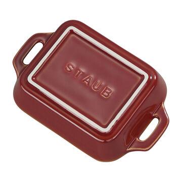 Staub Rustic Ceramic Bakers, Red