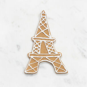 """Copper-Plated Eiffel Tower Cookie Cutter with Handle, 4"""""""