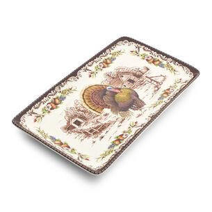 Turkey Rectangular Platter