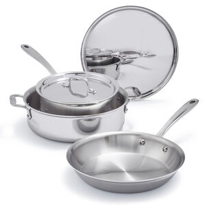 All-Clad d3 Compact 5-Piece Cookware Set