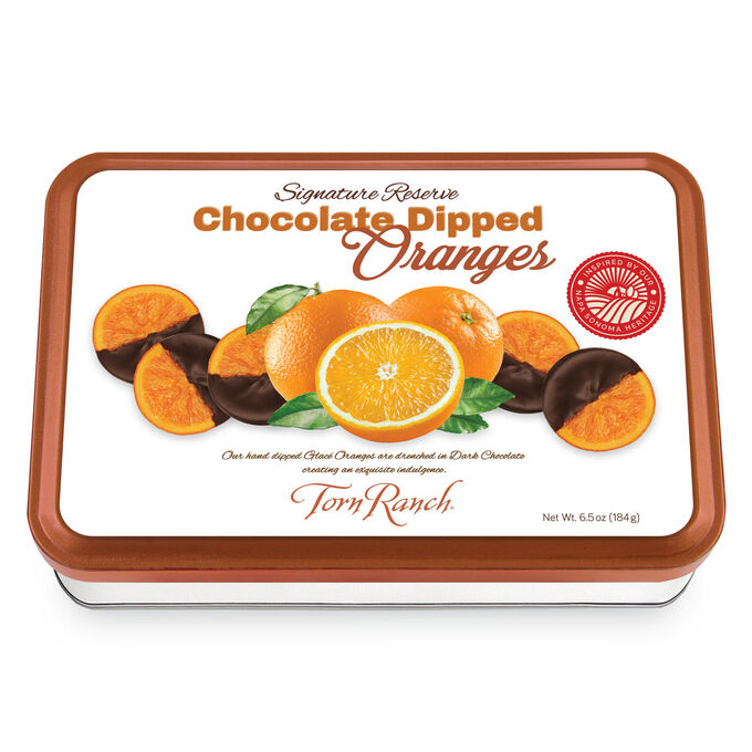Torn Ranch Signature Reserve 6-Count Chocolate Orange Gift Tins, Set of 2