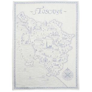 "Toscana Blue Jacquard Kitchen Towel, 30"" x 20"""
