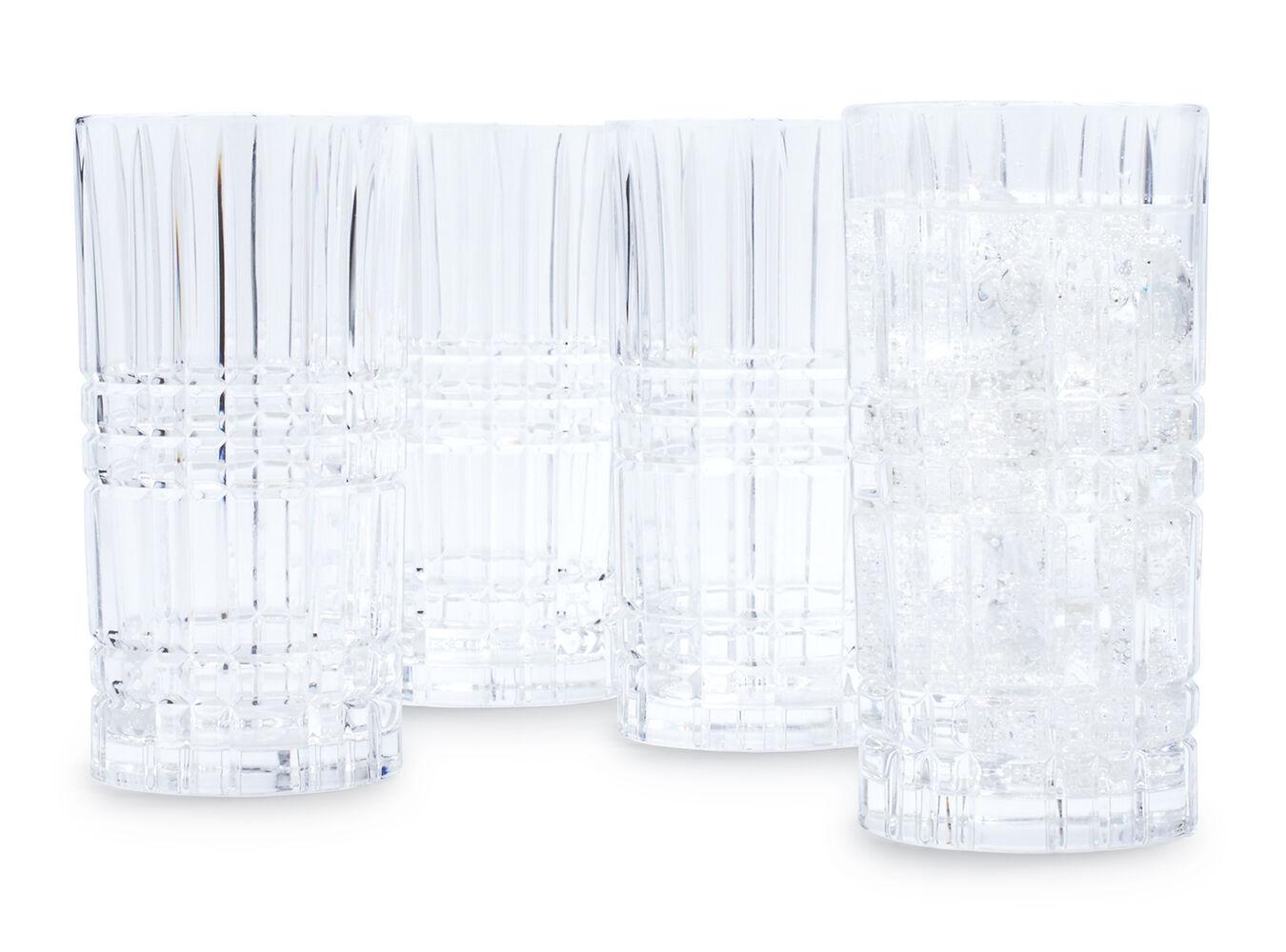 Nachtmann Square Glasses, Set of 4 | Sur La Table
