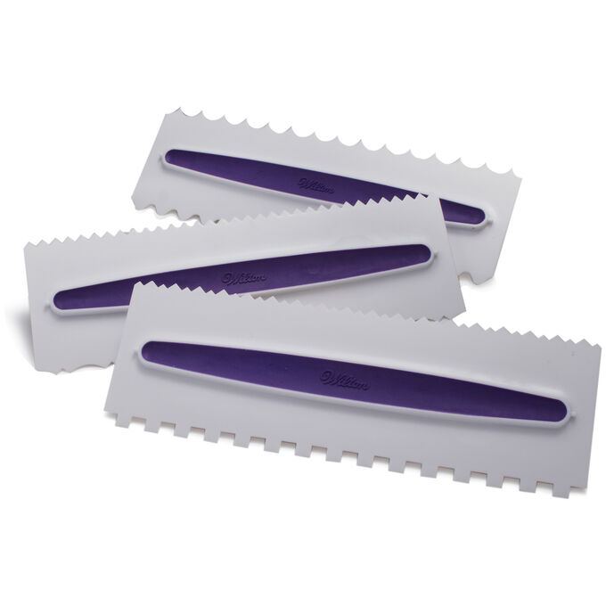 Wilton Icing Combs, Set of 3