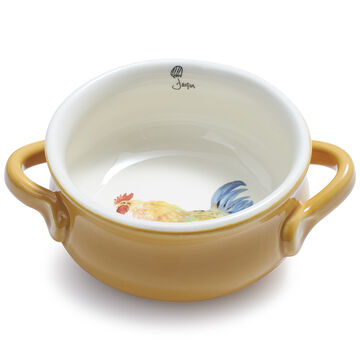 Jacques Pépin Collection Double-Handle Chicken Bowl