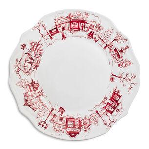 Snowy Lane Dinner Plate