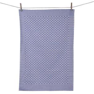 Tissage de L'Ouest Traditional Blue Towels, Set of 2