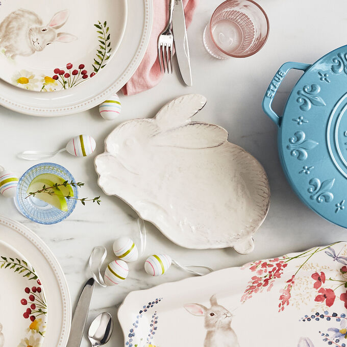 Figural Bunny Plate