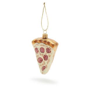 Pizza Glass Ornament