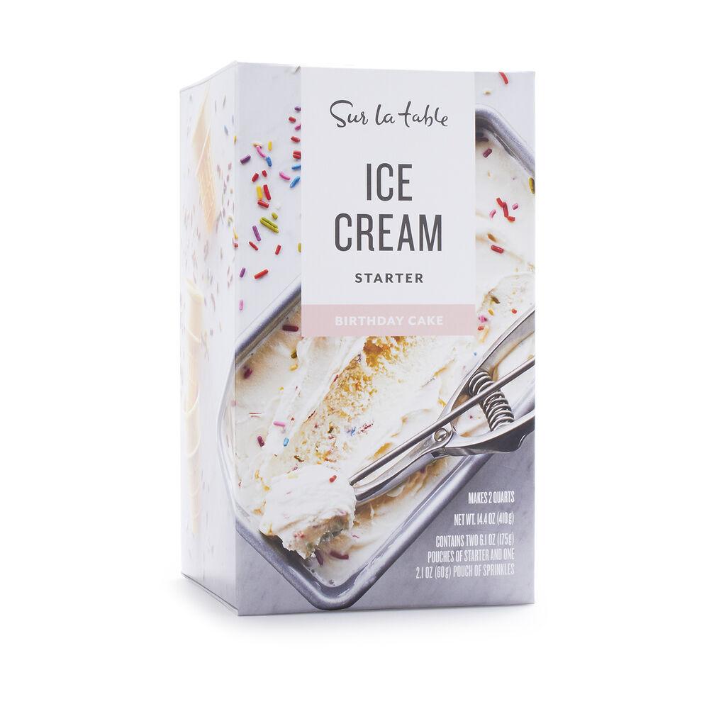Sur La Table Birthday Cake Ice Cream Starter, 14.4 oz.