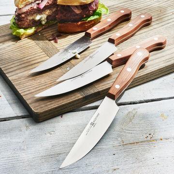 Wüsthof Plum Wood 4-Piece Steak Knife Set