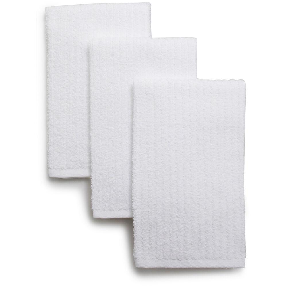 "Bar Mop Kitchen Towels, 19"" x 16"", Set of 3"