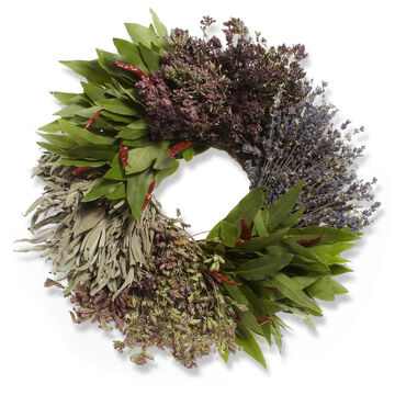 Mixed Herb Wreaths