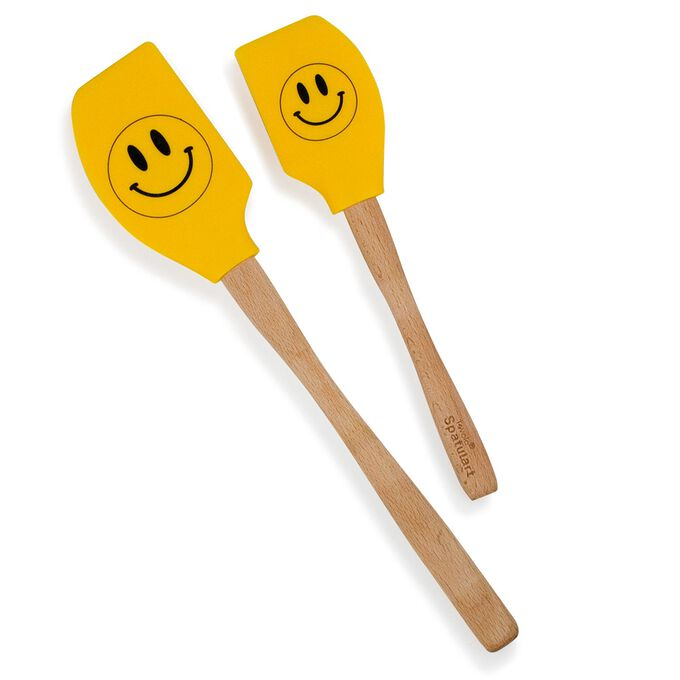 Smiley Face Spatulas, Set of 2
