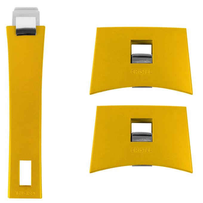 Cristel Strate Detachable, Interchangeable Handles, Set of 3