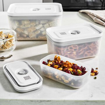 Zwilling Fresh & Save Plastic Vacuum Container Set, Set of 3