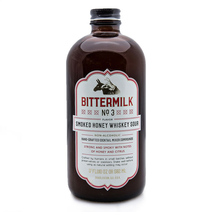 Bittermilk No.3 Smoked Honey Whiskey Sour