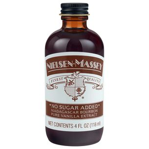 Nielsen-Massey No-Sugar Added Madagascar Bourbon Pure Vanilla Extract, 4 oz.