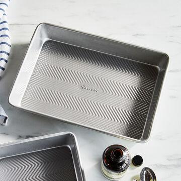 "Sur La Table Silver Classic Rectangular Cake Pan, 9"" x 13"""