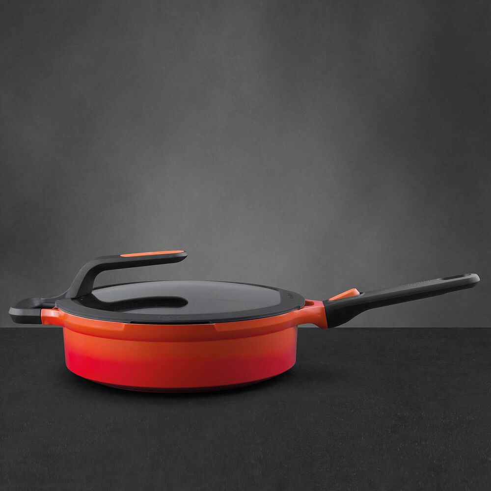 BergHOFF Gem Stay-Cool Sauté Pan with Lid