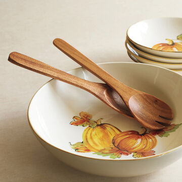 Acacia Wood Servers, Set of 2