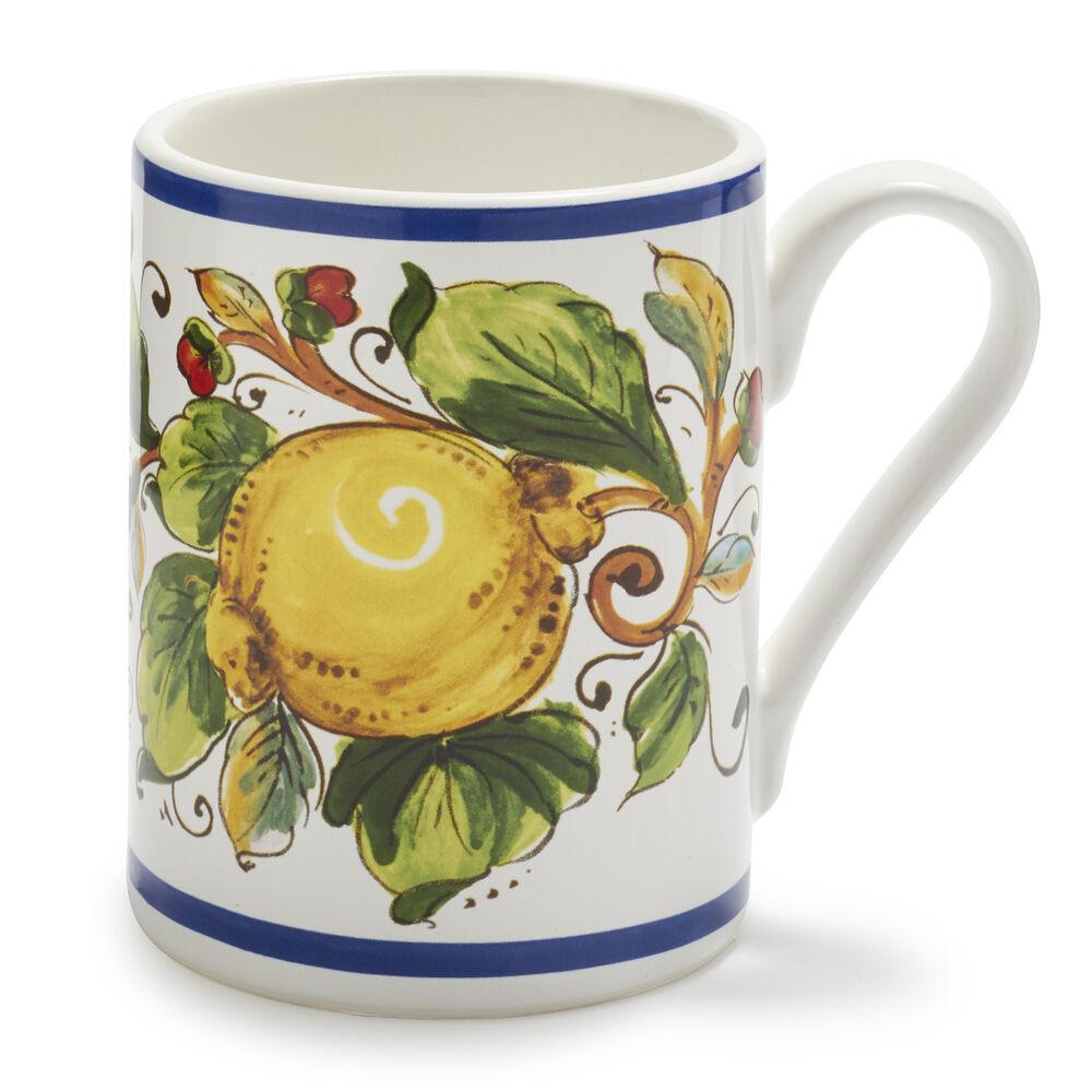 Lemons Deruta Mug