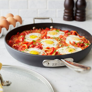 All-Clad HA1 Nonstick Covered Skillet, 12""