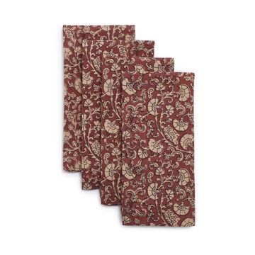 Paisley Floral Napkins, Set of 4