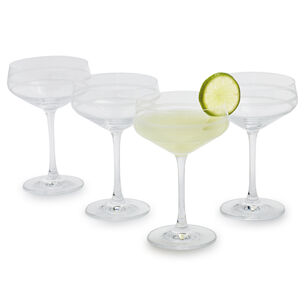 Crafthouse by Fortessa Cocktail Coupe Glasses, Set of 4